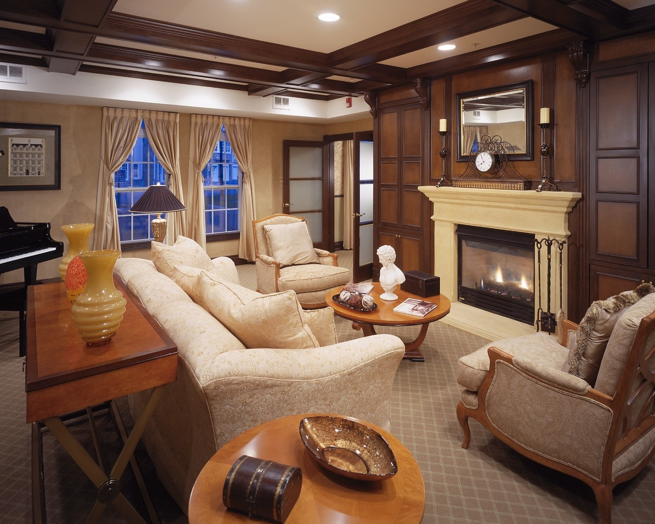 The Enclave - Elegant Living Room