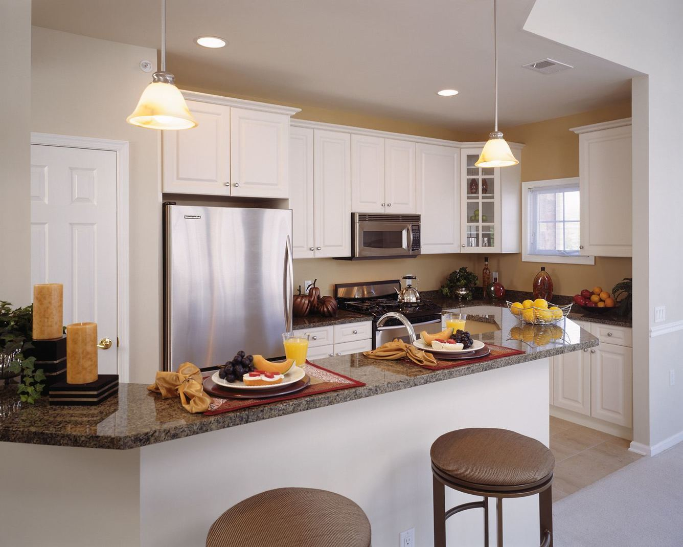 The Enclave - Gourmet Kitchens with Granite Countertops